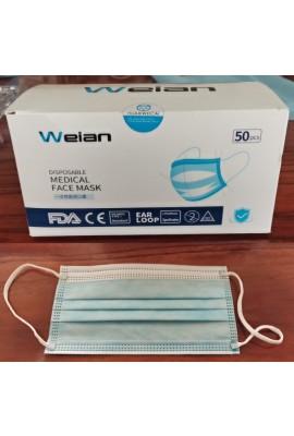 24 Karton (1200 Stk.) Wejan Hygienemaske